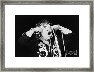 Eric Burdon In Concert-1 Framed Print