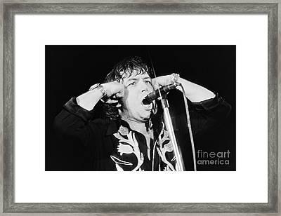 Eric Burdon In Concert-1 Framed Print