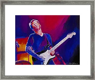 Eric Clapton - Crossroads Framed Print