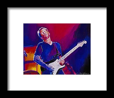 Eric Clapton Framed Prints