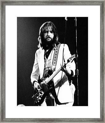 Eric Clapton 1973 Framed Print