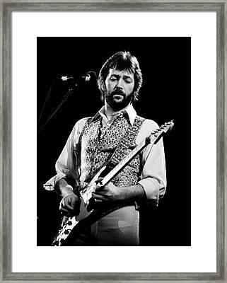 Eric Clapton 1977 Framed Print