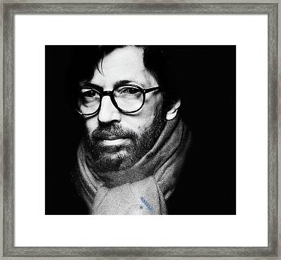 Eric Clapton Framed Print