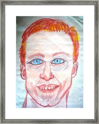 Eric Framed Print by Josie Weir