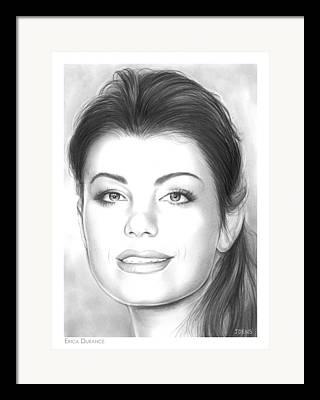 Erica Framed Prints