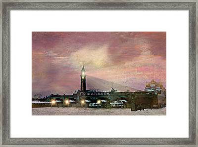 Erie Lackawanna Transit Framed Print by Diana Angstadt