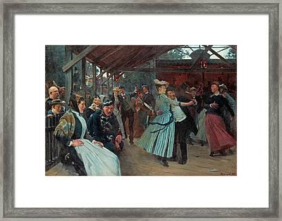 Erik Henningsen, The Dance Pavillion Framed Print