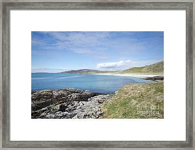 Eriskay Bay Framed Print
