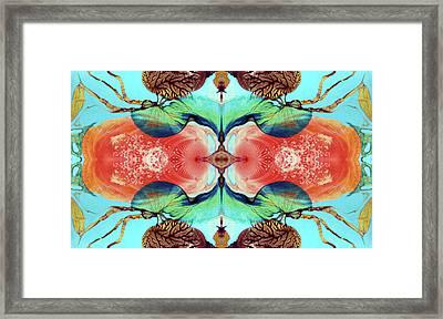 Ernsthaftes Spiel Im Inneren Erdteil - Digital Framed Print by Otto Rapp