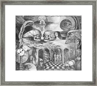 Eros Thanatos II Framed Print