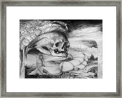 Eros Thanatos Framed Print