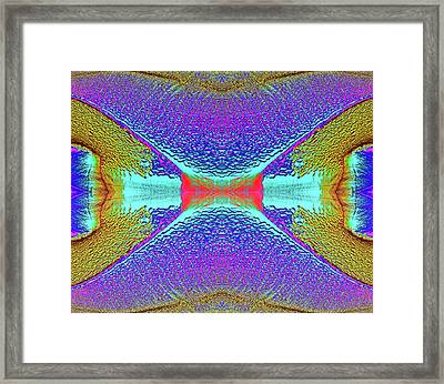 Framed Print featuring the photograph Erosion  by Tony Beck
