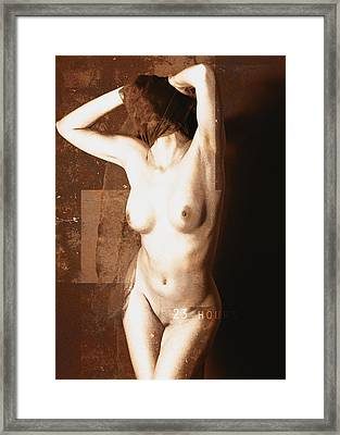 Erotic Art  23 Hours Framed Print by Falko Follert