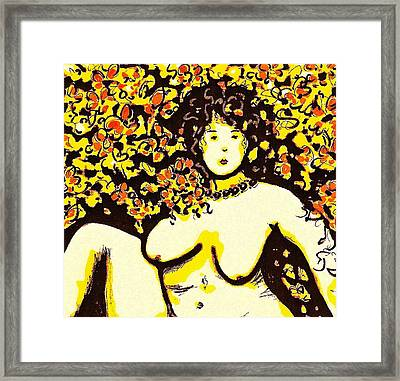 Erotic Desire Framed Print