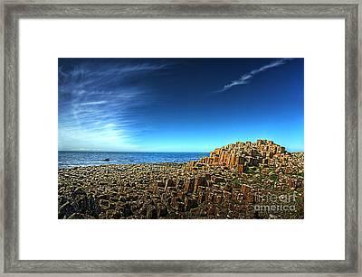 Eruption Framed Print by Kim Shatwell-Irishphotographer