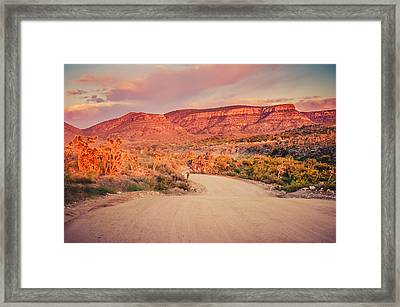 Eruptions On The Sun Framed Print