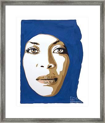 Erykah Badu. Mama's Gun. Framed Print