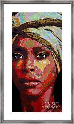 Erykah Framed Print