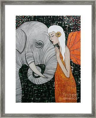 Erynn Rose Framed Print by Natalie Briney