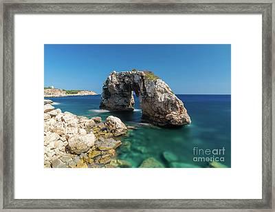 Es Pontas Framed Print