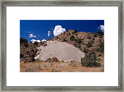 94006 Escalante Mound Framed Print