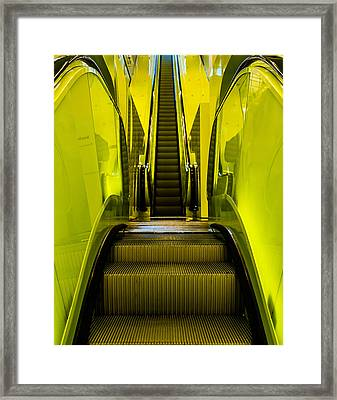 Escalation #2 Framed Print by Steven Maxx