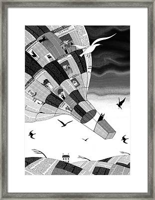 Escape Framed Print by Andrew Hitchen