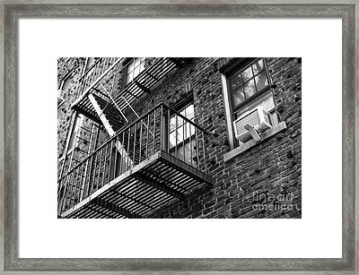 Escape Angles Framed Print by John Rizzuto