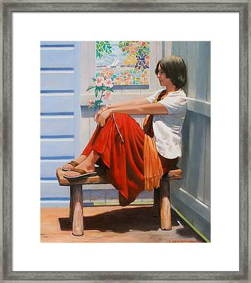Escape Artist Framed Print by Kevin Lawrence Leveque
