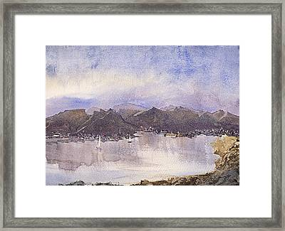 Escape Framed Print by Barry Jones