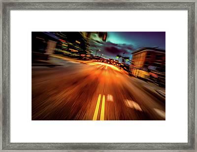 Escape Framed Print by Bob Orsillo