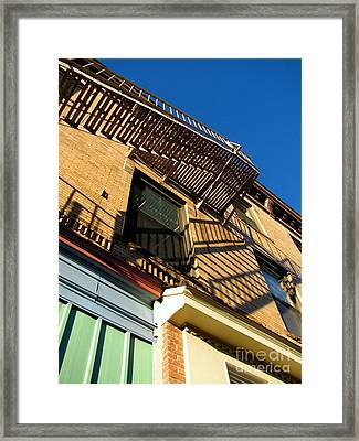 Escape Framed Print by Colleen Kammerer