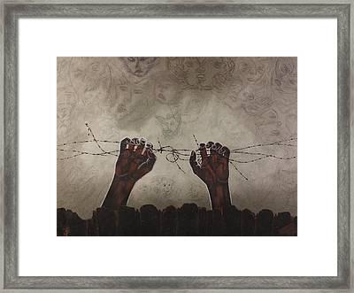Escape Da Obscuridade Framed Print by Arnuda