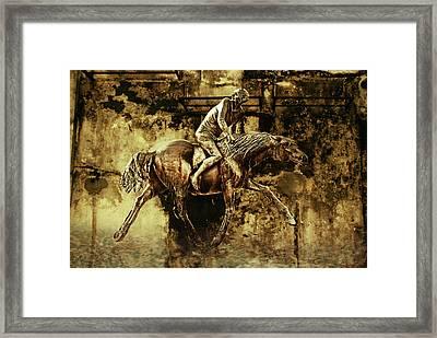 Escape From Reality Framed Print by Joachim G Pinkawa