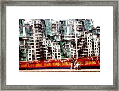 Escape From The Structures Framed Print by Jez C Self
