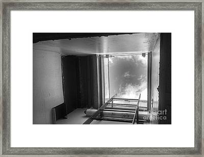 Escape Hatch Framed Print
