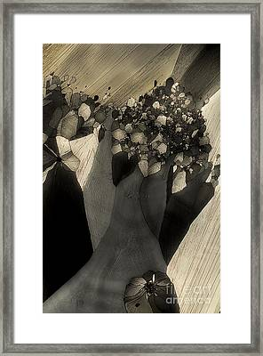 Framed Print featuring the photograph Escape by Olimpia - Hinamatsuri Barbu