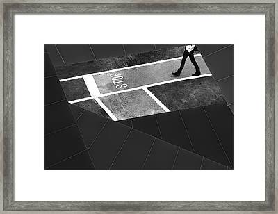 Escape Plan Framed Print by Paulo Abrantes