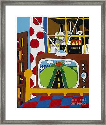 Escape Framed Print by Rojax Art