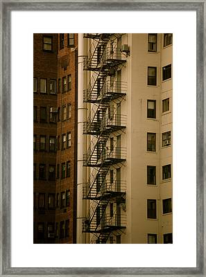 Escape Framed Print by Tess Haun