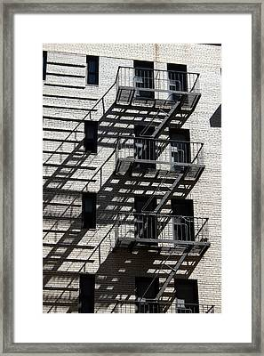 Escape The Shadows Framed Print by Jeff Porter