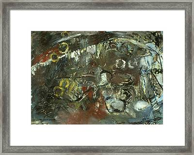 Escape The Whirlwind #2 Framed Print