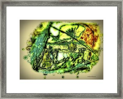 Escape The Whirlwind-2015 Framed Print