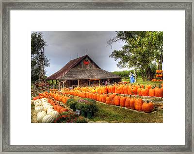 Escape To Autumn Framed Print