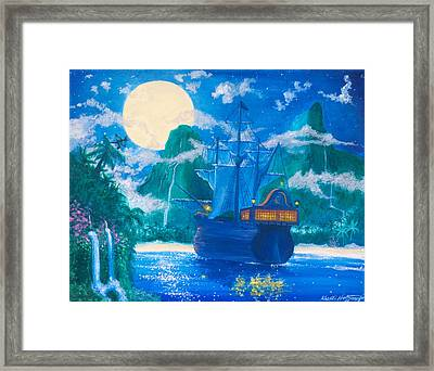 Escape To Neverland Framed Print by Kellie Haggerty