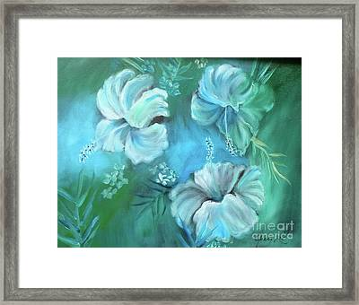 Escape To Serenity Framed Print by Jenny Lee