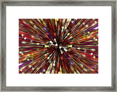 Framed Print featuring the photograph Escape Velocity.. by Nina Stavlund