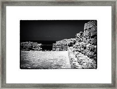 Escape Wall Framed Print by John Rizzuto