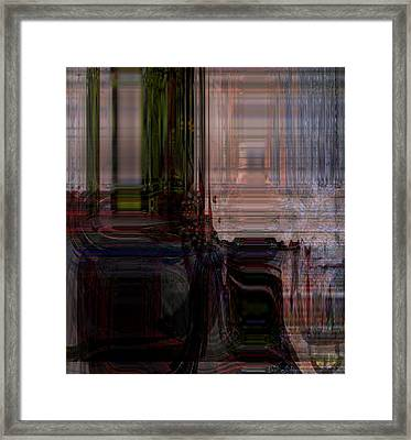 Escaping Dead End Situation Framed Print by Fania Simon