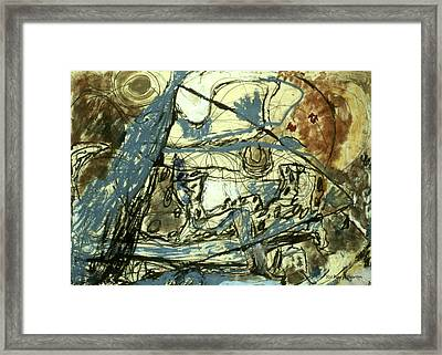 Escaping The Whirlwind Framed Print